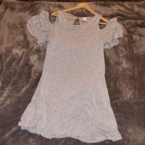 Francesca's flowy dress